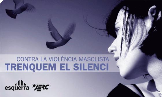Manifest contra la violènica envers les dones