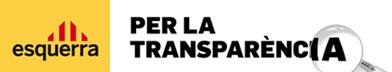 per la transparència